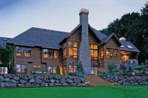 Craftsman Exterior - Rear Elevation Plan #48-233