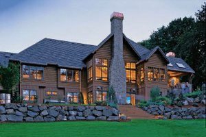 Home Plan - Craftsman Exterior - Rear Elevation Plan #48-233