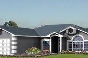 Adobe / Southwestern Style House Plan - 3 Beds 2 Baths 1713 Sq/Ft Plan #1-1010