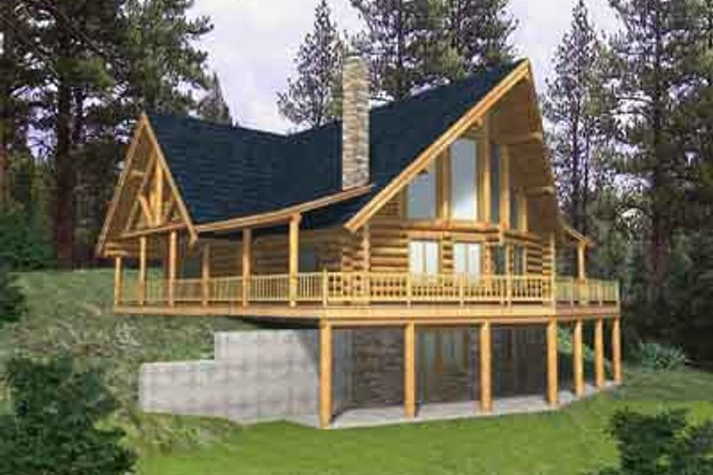 Home Plan - Traditional Exterior - Front Elevation Plan #117-315