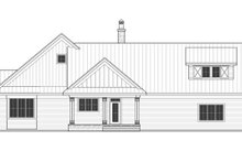Home Plan - Farmhouse Exterior - Rear Elevation Plan #51-1131