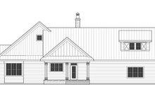 Home Plan - Farmhouse Exterior - Rear Elevation Plan #51-1131