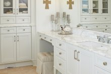 European Interior - Master Bathroom Plan #928-8