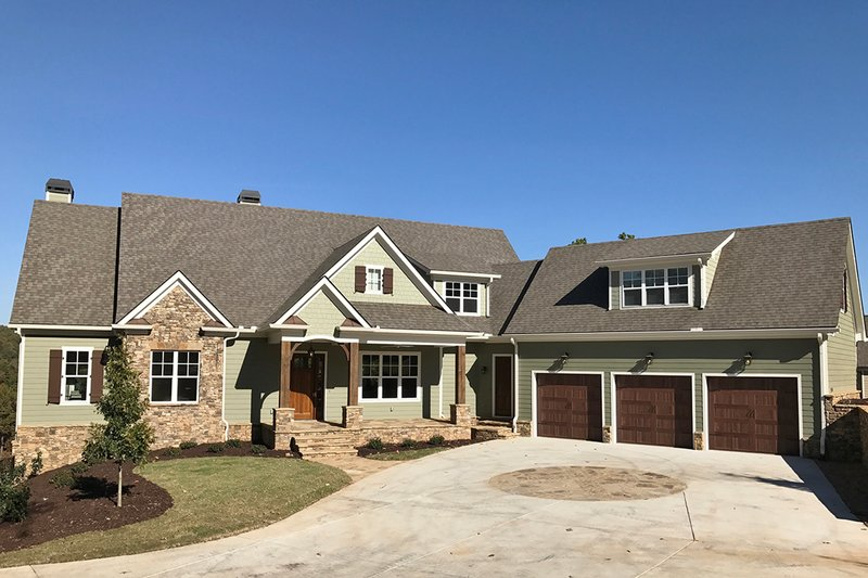 House Plan Design - Craftsman Exterior - Front Elevation Plan #437-85