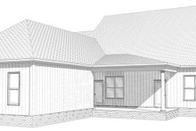 House Design - Traditional Exterior - Rear Elevation Plan #63-274