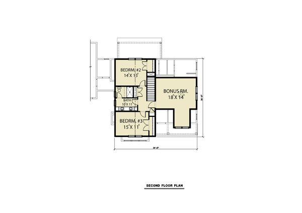 House Plan Design - Farmhouse Floor Plan - Other Floor Plan #1070-69