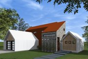 Modern Style House Plan - 3 Beds 2.5 Baths 1715 Sq/Ft Plan #933-7 Exterior - Outdoor Living