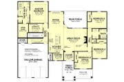 Country Style House Plan - 4 Beds 2 Baths 2281 Sq/Ft Plan #430-194 Floor Plan - Lower Floor