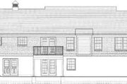 Traditional Style House Plan - 3 Beds 3.5 Baths 1751 Sq/Ft Plan #46-350 Exterior - Rear Elevation