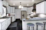 Southern Style House Plan - 3 Beds 2.5 Baths 2159 Sq/Ft Plan #44-237 Interior - Kitchen