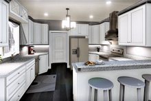 Southern Interior - Kitchen Plan #44-237