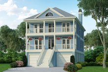 Architectural House Design - Classical Exterior - Front Elevation Plan #929-506