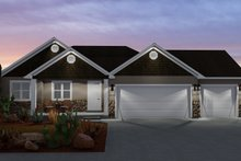 House Plan Design - Ranch Exterior - Front Elevation Plan #1060-11