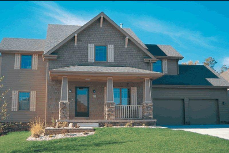 Cottage Exterior - Front Elevation Plan #20-809