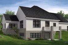House Plan Design - Farmhouse Exterior - Rear Elevation Plan #1057-22