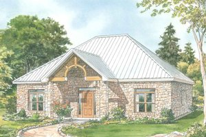 Cottage house elevation