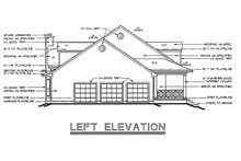 Southern Exterior - Other Elevation Plan #20-254