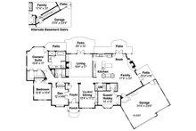 Ranch Floor Plan - Main Floor Plan Plan #124-372