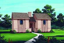Traditional Exterior - Front Elevation Plan #45-294