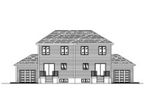 Traditional Exterior - Rear Elevation Plan #138-238