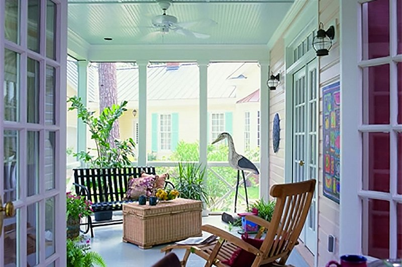 Southern Interior - Other Plan #137-165 - Houseplans.com