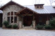 Craftsman Style House Plan - 3 Beds 3.5 Baths 4488 Sq/Ft Plan #453-43 Exterior - Other Elevation