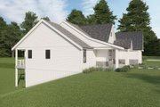 Farmhouse Style House Plan - 4 Beds 3.5 Baths 3138 Sq/Ft Plan #1070-116 Exterior - Other Elevation