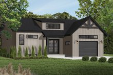 House Design - Craftsman Exterior - Front Elevation Plan #23-2304