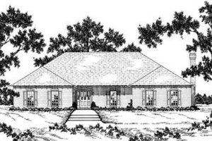 Traditional Exterior - Front Elevation Plan #36-252