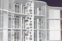 Contemporary Exterior - Outdoor Living Plan #535-18