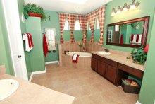House Plan Design - Mediterranean Interior - Master Bathroom Plan #80-151