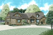 Craftsman Style House Plan - 3 Beds 2.5 Baths 2199 Sq/Ft Plan #17-2569 Exterior - Front Elevation