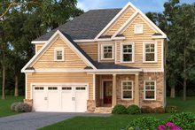 Dream House Plan - Traditional Exterior - Front Elevation Plan #419-247