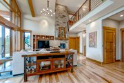 Modern Style House Plan - 4 Beds 4.5 Baths 3458 Sq/Ft Plan #1042-20 Interior - Family Room