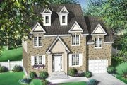 Colonial Style House Plan - 3 Beds 1.5 Baths 1652 Sq/Ft Plan #25-4160