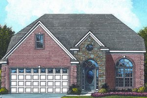 Traditional Exterior - Front Elevation Plan #424-113