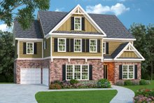 Craftsman Exterior - Front Elevation Plan #419-194