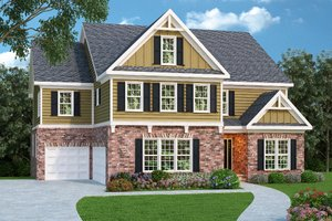 Home Plan - Craftsman Exterior - Front Elevation Plan #419-194