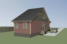 House Plan Design - Bungalow Exterior - Other Elevation Plan #79-312