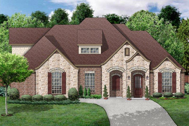 House Design - European Exterior - Front Elevation Plan #84-403