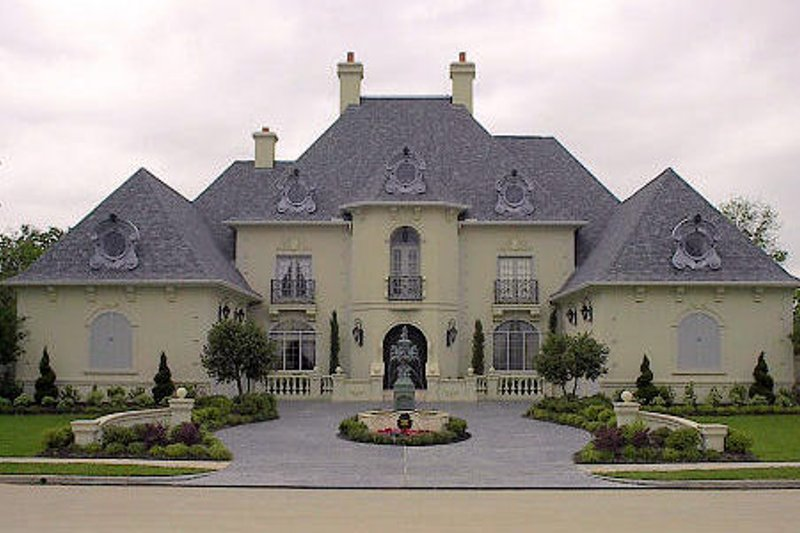 European Exterior - Front Elevation Plan #61-177 - Houseplans.com