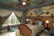 European Style House Plan - 4 Beds 3.5 Baths 4435 Sq/Ft Plan #20-2301 Interior - Bedroom