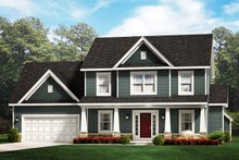Traditional Exterior - Front Elevation Plan #1010-229