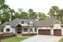 Craftsman Exterior - Front Elevation Plan #437-104