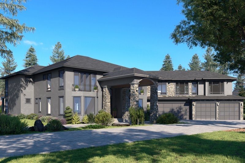 House Plan Design - Traditional Exterior - Front Elevation Plan #1066-127