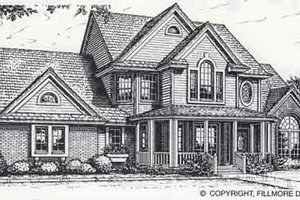 Colonial Exterior - Front Elevation Plan #310-818