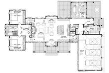 Farmhouse Floor Plan - Main Floor Plan Plan #928-338