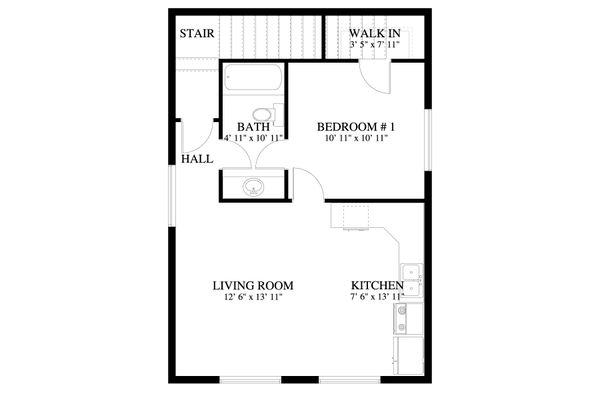 Dream House Plan - Traditional Floor Plan - Upper Floor Plan #1060-84