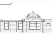 Craftsman Exterior - Rear Elevation Plan #124-846