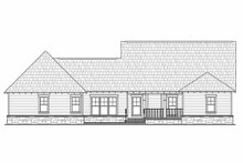 Craftsman Exterior - Rear Elevation Plan #21-308